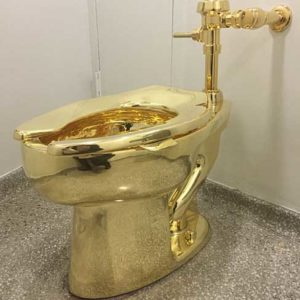 グッゲンハイム美術館のトイレ