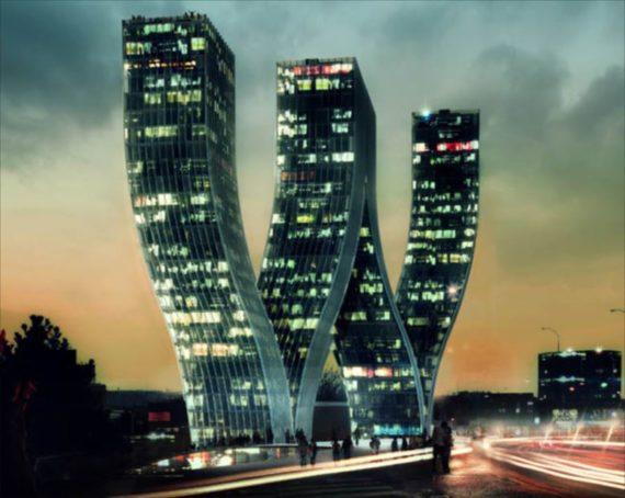 Bjarke Ingels Group's Walter project(プラハ)